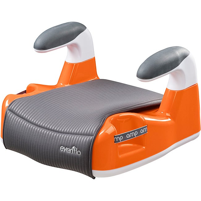 Evenflo Amp Performance No-Back Booster Car Seat in Orange