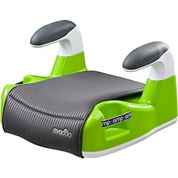 Evenflo Amp Performance No-Back Booster Car Seat in Green
