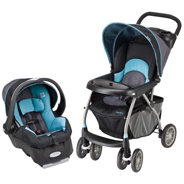 Evenflo Journey 300 Travel System in Koi