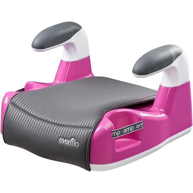 Evenflo Amp Performance No-Back Booster Car Seat in Pink ...
