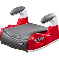Evenflo Amp Performance No-Back Booster Car Seat in Red