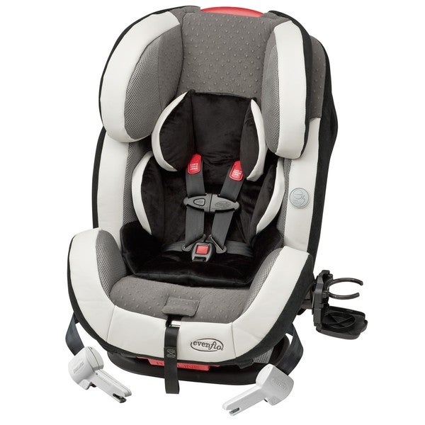evenflo symphony 65 e3 all in one car seat in levi free shipping today 14187720. Black Bedroom Furniture Sets. Home Design Ideas
