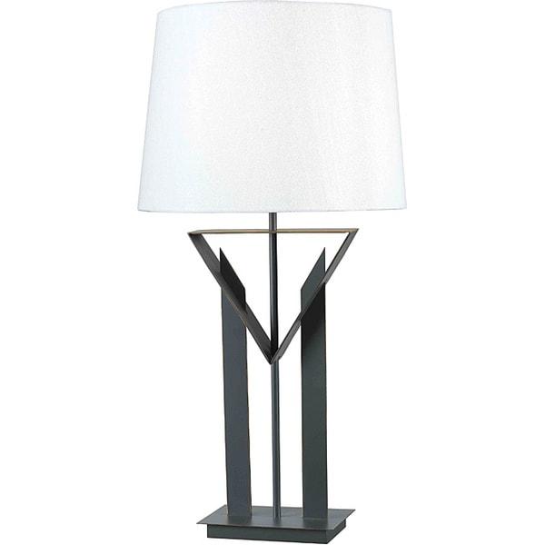 Livgren Bronze Finish Table Lamp