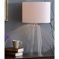 Chamberlain 29-inch Clear Glass Table Lamp