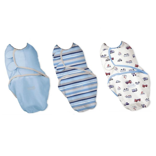 Summer Infant Small/ Medium SwaddleMe Blanket in Beep Beep (Pack of 3)