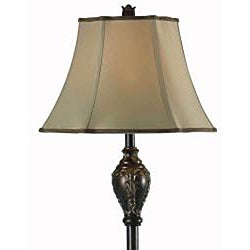 Perkins 62-inch Bronzed Gold Finish Floor Lamp