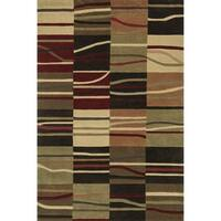 Hand-Tufted Chalice Multi Rug - 7'9 x 9'9