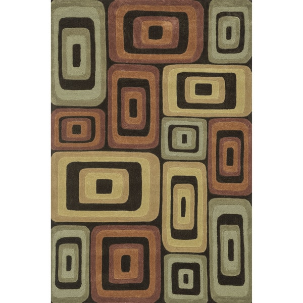 Hand-tufted Chalice Multi Rug (7'9 x 9'9)