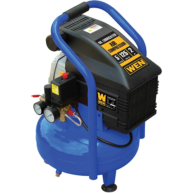 Wen 5 Gallon 2HP Pancake Air Compressor