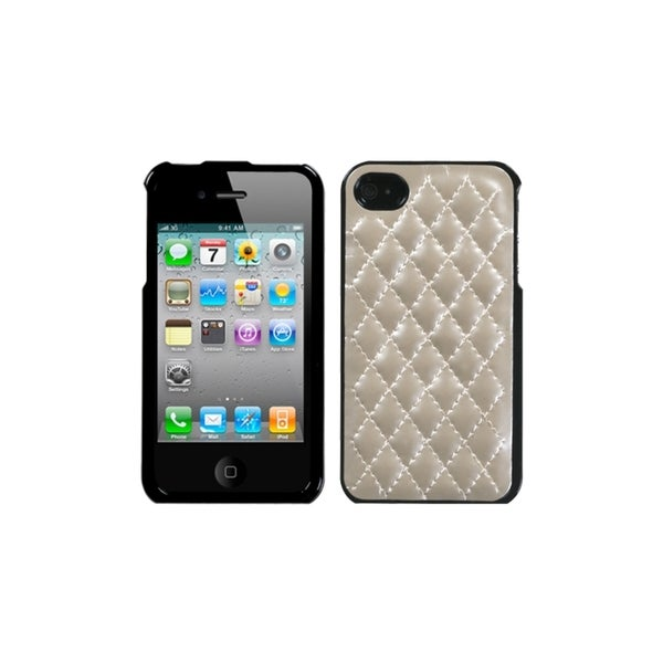 MyBat Apple iPhone 4/4S Quilted Executive Protector Case