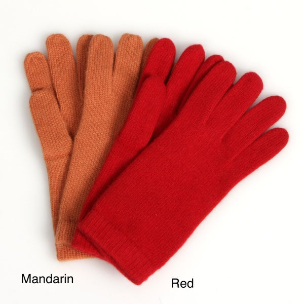 Portolano Women's 10-inch Cashmere Gloves FINAL SALE