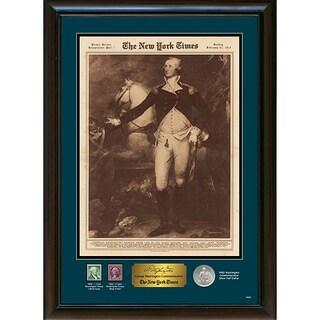 American Coin Treasures New York Times George Washington Commemorative John Trumbull Reprint