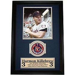 Minnesota Twins Harmon Killebrew Patch Frame (Option: Minnesota Twins)