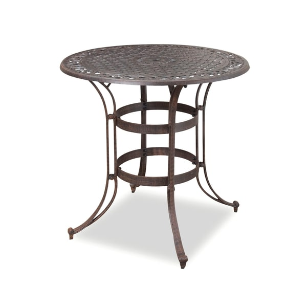 Home Styles Biscayne Bronze Bistro Table