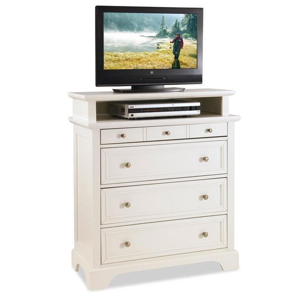 White Naples Media Chest by Home Styles