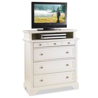Home Styles White Naples Media Chest