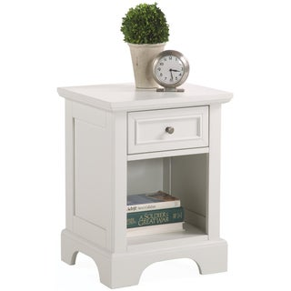 Home Styles Naples White Nightstand