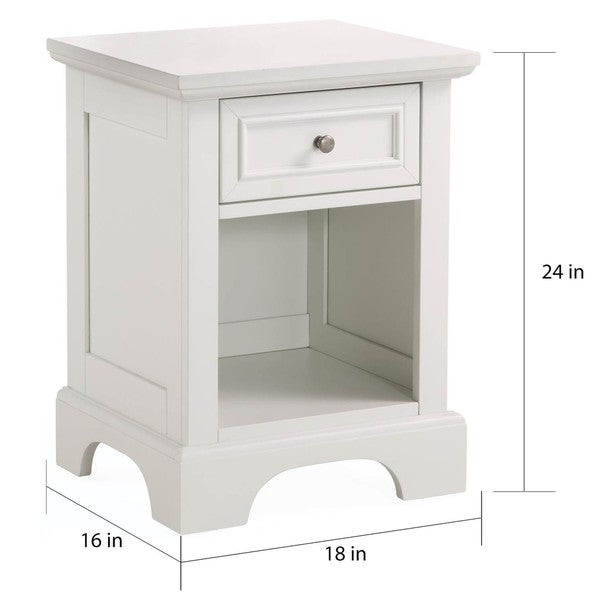 naples white nightstand by home styles free shipping today