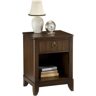 Paris Mahogany Night Stand by Home Styles