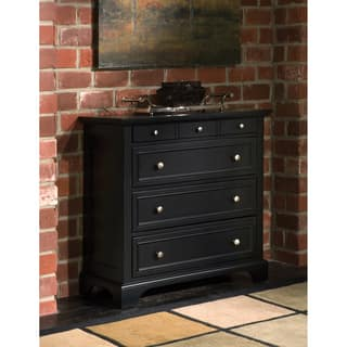 Bedford Black Chest By Home Styles