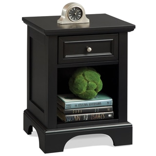 Home Styles Bedford Black Night Stand