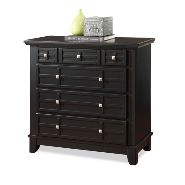Arts & Crafts Black Chest by Home Styles