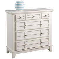 Arts & Crafts White Chest by Home Styles