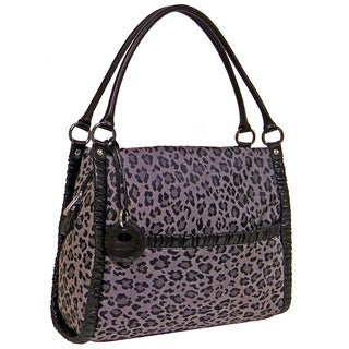 Rina Rich 'Leo Kelly' Nylon Canvas Satchel