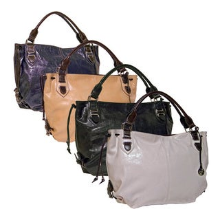 Rina Rich 'Fabulous' Faux Leather Satchel