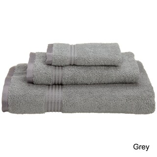 Superior Plush & Absorbent 600 GSM Combed Cotton 3-piece Towel Set