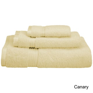 Superior Plush & Absorbent 600 GSM Combed Cotton 3-piece Towel Set (More options available)