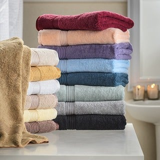 Superior Plush & Absorbent 600 GSM Combed Cotton 3-piece Towel Set