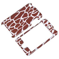 INSTEN Giraffe Snap-on Rubber Coated iPod Case Cover for Apple iPod Touch 4th Generation - Thumbnail 1