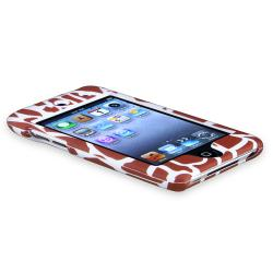 INSTEN Giraffe Snap-on Rubber Coated iPod Case Cover for Apple iPod Touch 4th Generation - Thumbnail 2