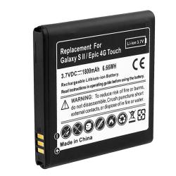 INSTEN Li-Ion Battery for Samsung Galaxy S II A Epic 4G Touch - Thumbnail 1