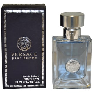 Versace Pour Homme Men's 1-ounce Eau de Toilette Natural Spray
