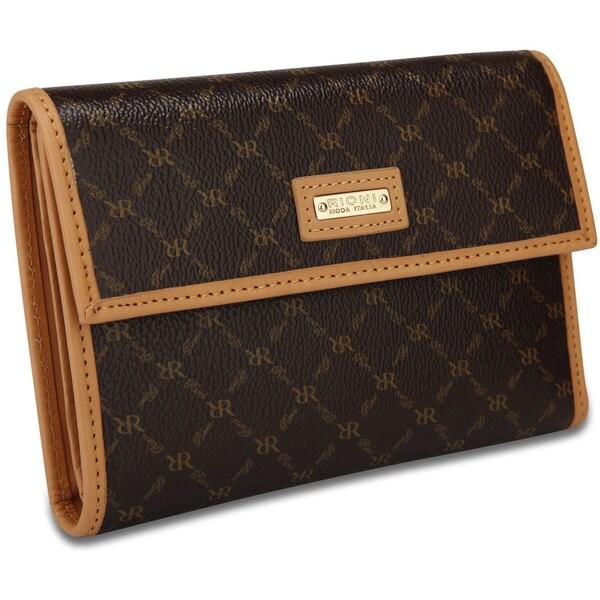 Rioni Women's Signature Leather Tri-fold Wallet