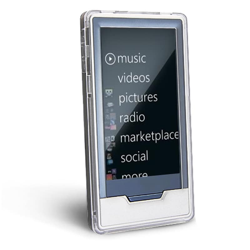BasAcc Frost Clear Crystal Case for Microsoft Zune HD