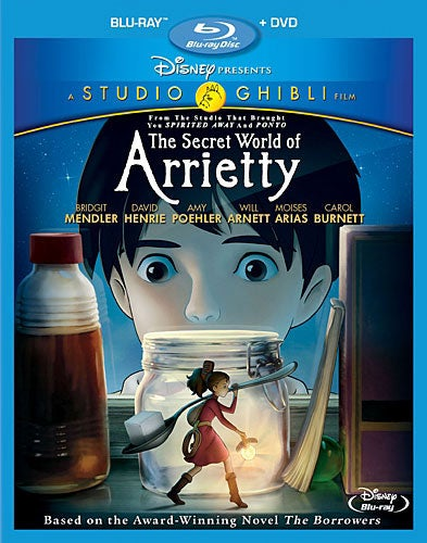 The Secret World of Arrietty (Blu-ray/DVD)
