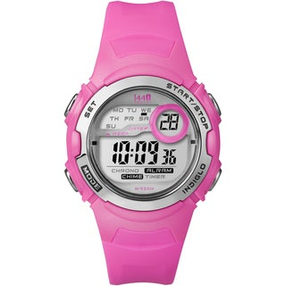 Timex Women's T5K595 1440 Sports Digital Bright Pink Resin Watch