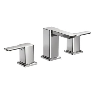 Moen 90-degree Low Arc Chrome Bathroom Faucet TS6720