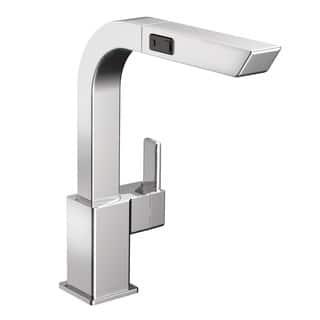 Moen 90 Degree High Arc Pullout Chrome Kitchen Faucet