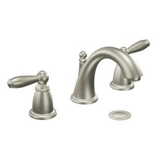 Moen Brantford Two Handle Brushed Nickel Bathroom Faucet T6620BN
