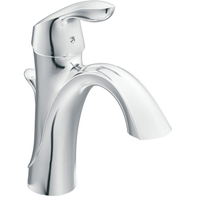 Moen 6400 EVA One-Handle Chrome High Arc Bathroom Faucet - Free ...
