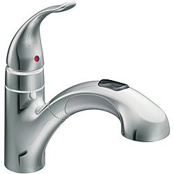 Moen 67315C Integra One Handle Pullout Kitchen Faucet Chrome