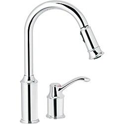 Moen 7590C Aberdeen One-Handle Pulldown Kitchen Faucet Chrome