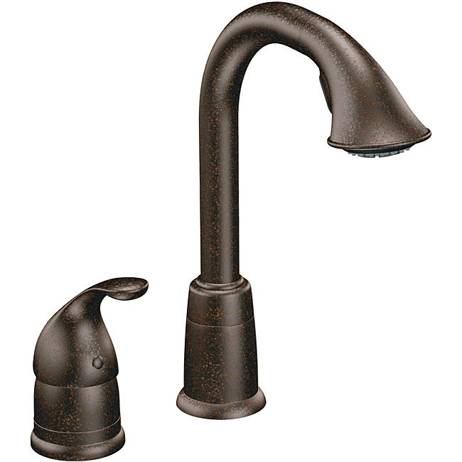 Moen 5955ORB Camerist Pullout Bar Faucet with Hydrolock Installation Oil Rubbed Bronze