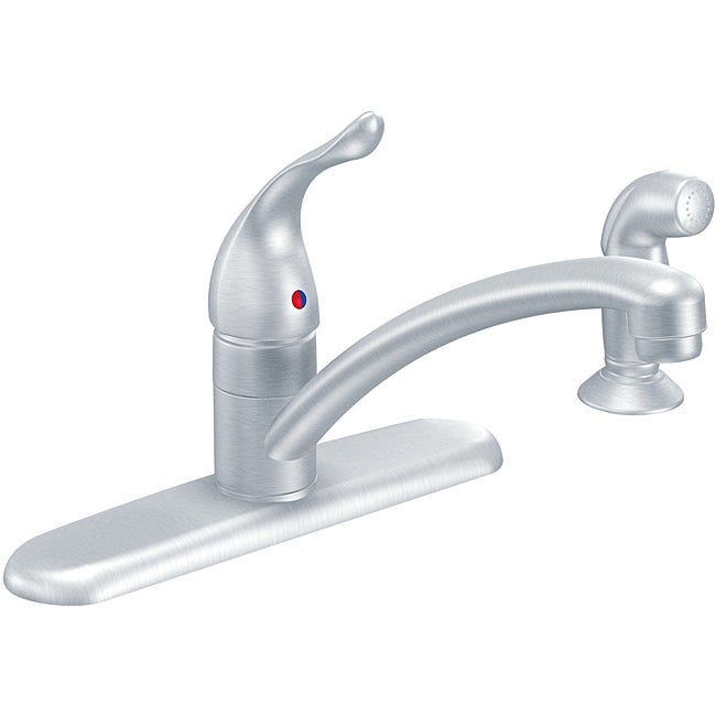 Moen 7430BC Chateau Chrome Kitchen Faucet with Hand Shower