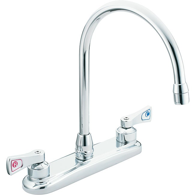 moen two handle chrome kitchen faucet free shipping moen two handle kitchen faucets www galleryhip com the