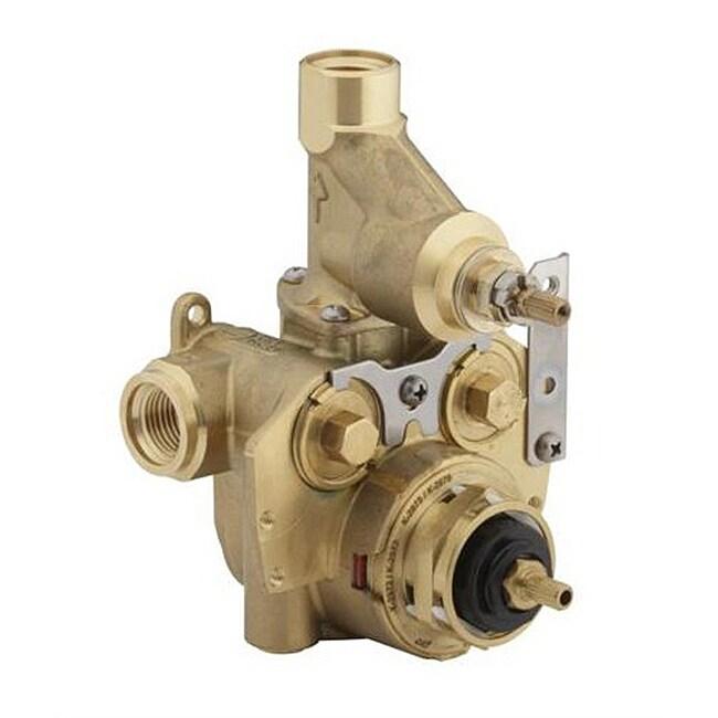kohler master shower thermostatic valve free shipping today 14189382. Black Bedroom Furniture Sets. Home Design Ideas